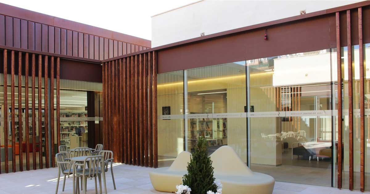 Fermetures pour le nouvel équipement culturel de Sant Sadurní d'Anoia