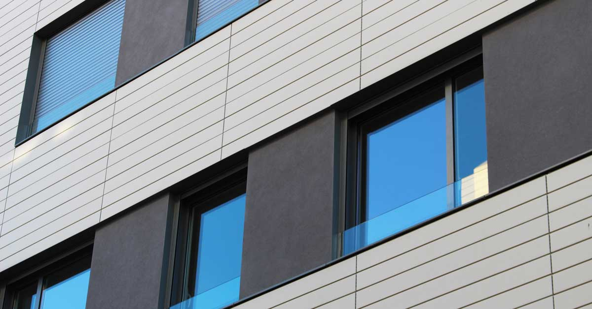 Tancaments D'alumini En Promoció D'habitatges A Sant Cugat Del Vallès