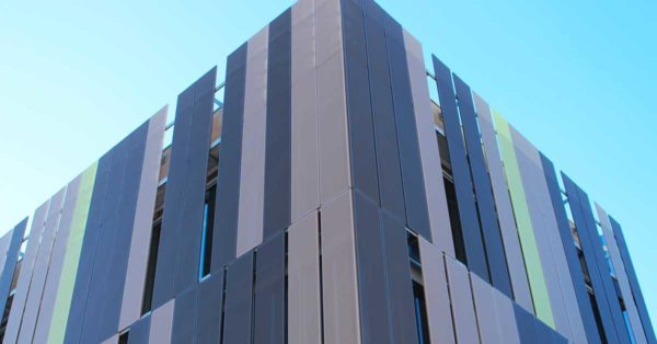 Facade And Enclosures For The New Shopping Centre