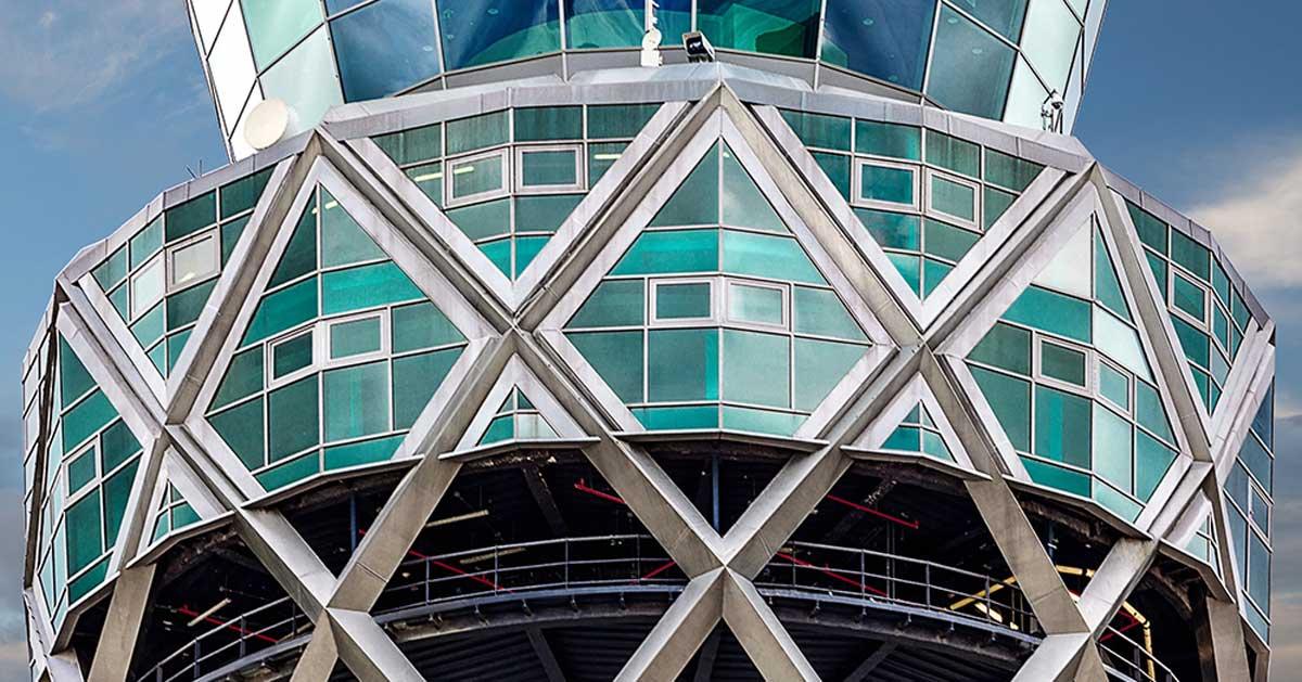 Revestimiento Y Trabajos En Altura En Torre De Control Aeropuerto Bogotá