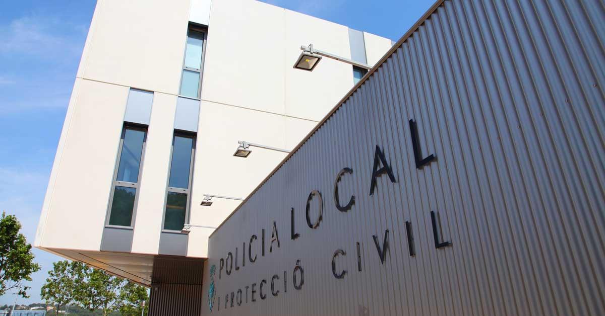 Tancaments i revestiment de façanaen edificipolicial