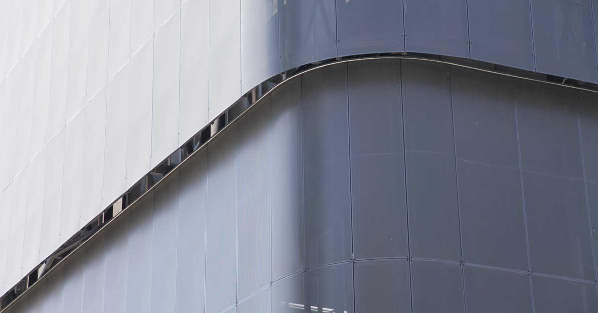 Nova Façana D'alumini Perforat I Mur Cortina
