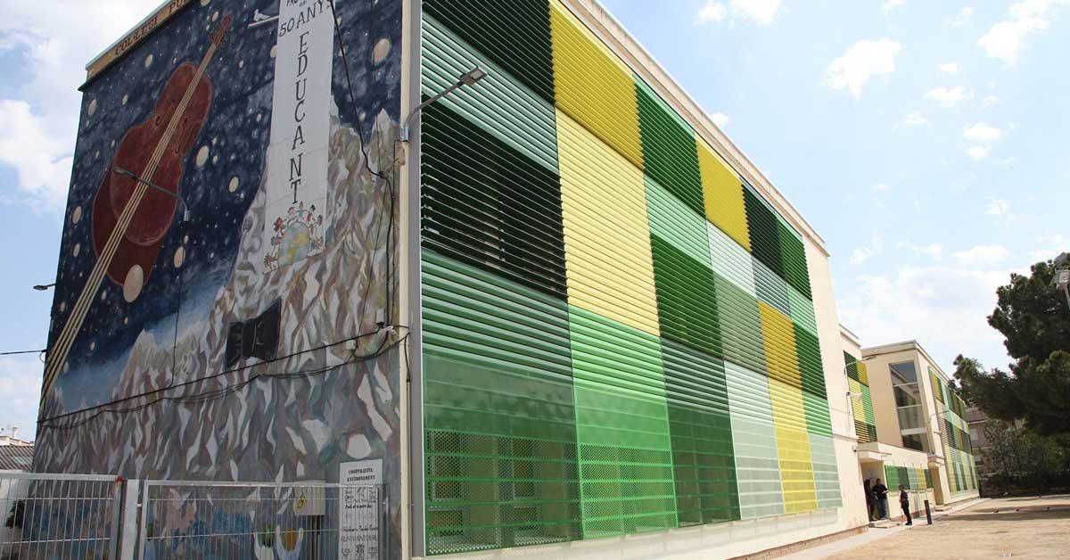 Réaménagement d'un établissement scolaire à Rubí