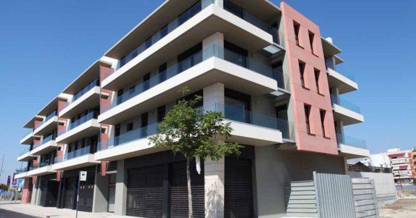 Glazed Aluminium Enclosures In The Housing Development.