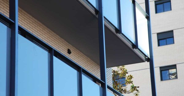 Aluminium And Glazed Enclosures For 82 Residences In Barcelona.