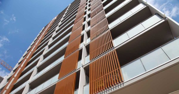 Enclosures In The Residential Development At L'Hospitalet De Llobregat