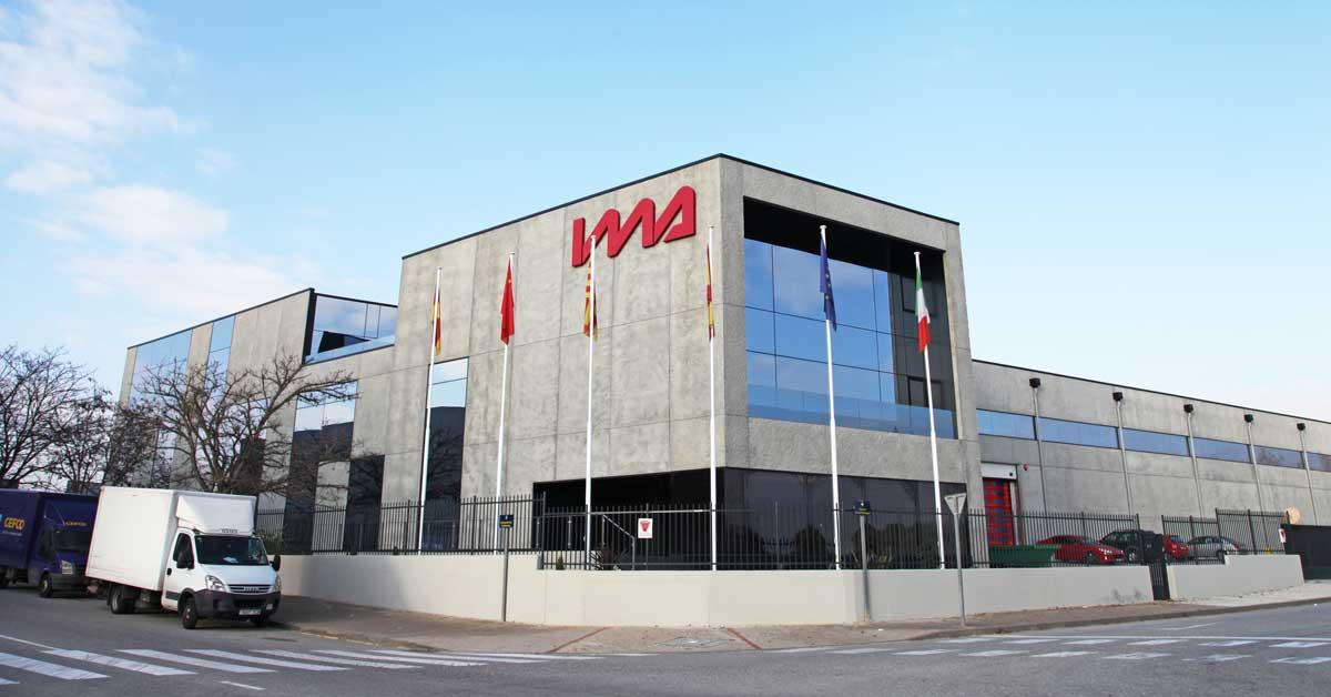 Tancaments de la nou seu corporativa de la firma IMA