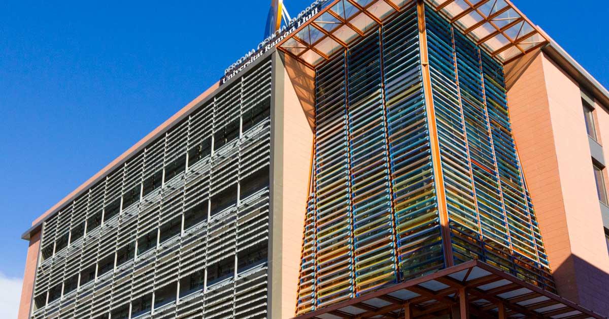 Nou Edifici De L'Institut Químic De Sarrià, A Barcelona