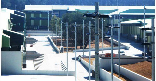Set Of Interior And Exterior Enclosures For The New Mas D'Enric Detention Centre