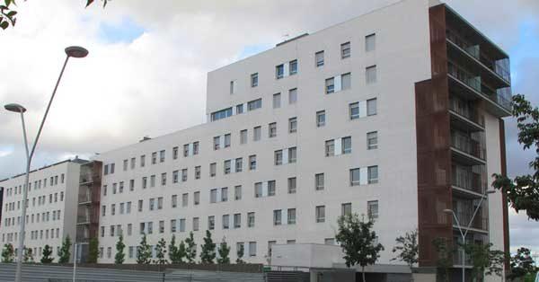 Aluminium Joinery Works In A Housing Development In Sant Feliu De Llobregat