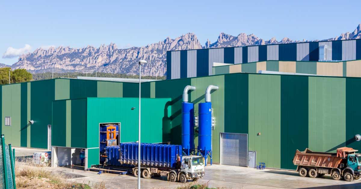 Instalaciones industriales de tratamiento de residuos metropolitanos