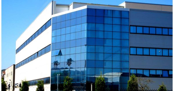 Curtain Wall And Exterior Enclosures For The Industrial Plant In Gavà
