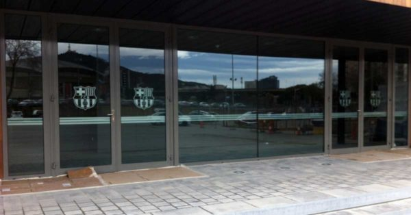 Facade Cladding And Enclosures For The New Barça Club Area