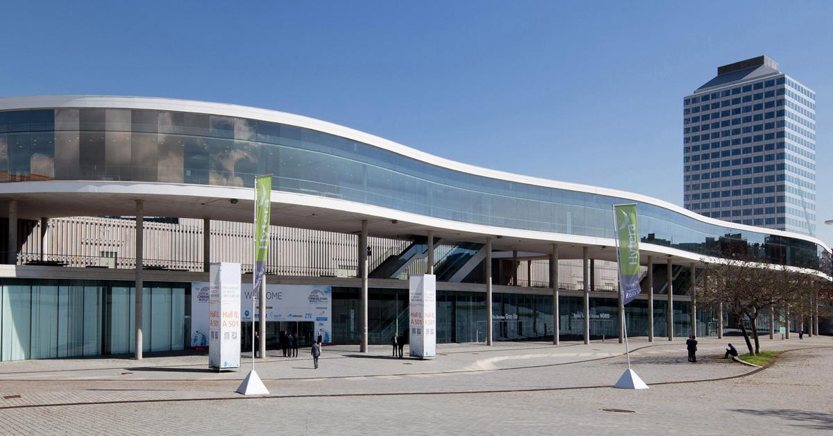Mur-rideau et fermetures pour le pavillon de la Fira 2 conçu par l'architecte Toyo Ito