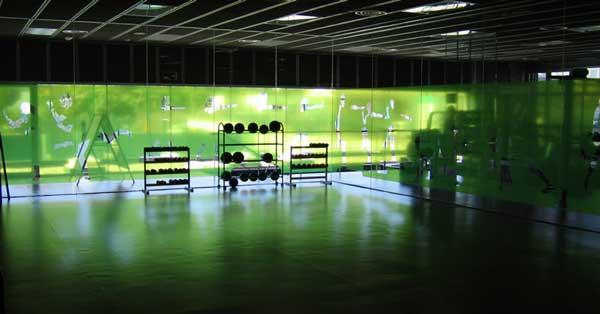 Arquitectura En Alumini Del Centre Esportiu Municipal Jordi Marí De Tiana
