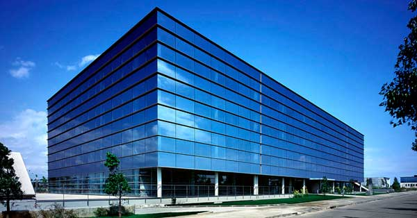 Curtain Walls For The Central Building And Aluminium Joinery Works In Facility Buildings