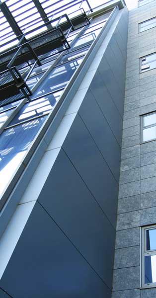 Murs Cortina De L'edifici Central I Treballs De Fusteria D'alumini En Edificis De Serveis