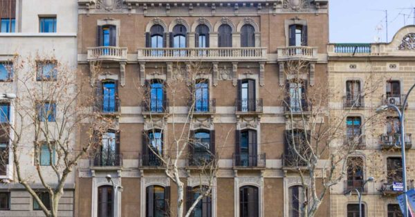Renovation Of The Historic Building In Barcelona To Convert It Into A Hotel