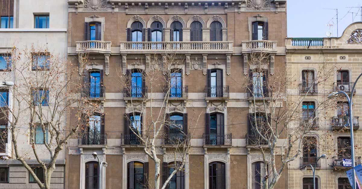 Réaménagement D'un Bâtiment Historique De Barcelone Pour En Faire Un Hôtel