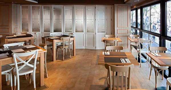 Cerramientos De Aluminio Y Trabajos En Vidrio En Céntrico Restaurante De Barcelona