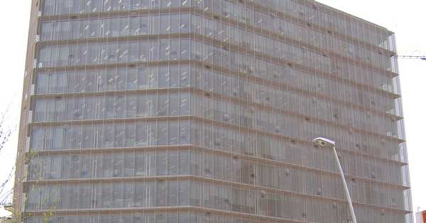 Nou Edifici Corporatiu De L'empresa Tecnològica Indra Al Districte 22@ De Barcelona