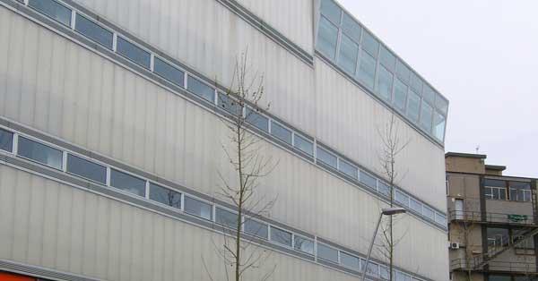 Arquitectura Exterior I Tancaments Interiors De La Seu Corporativa Iindustrial