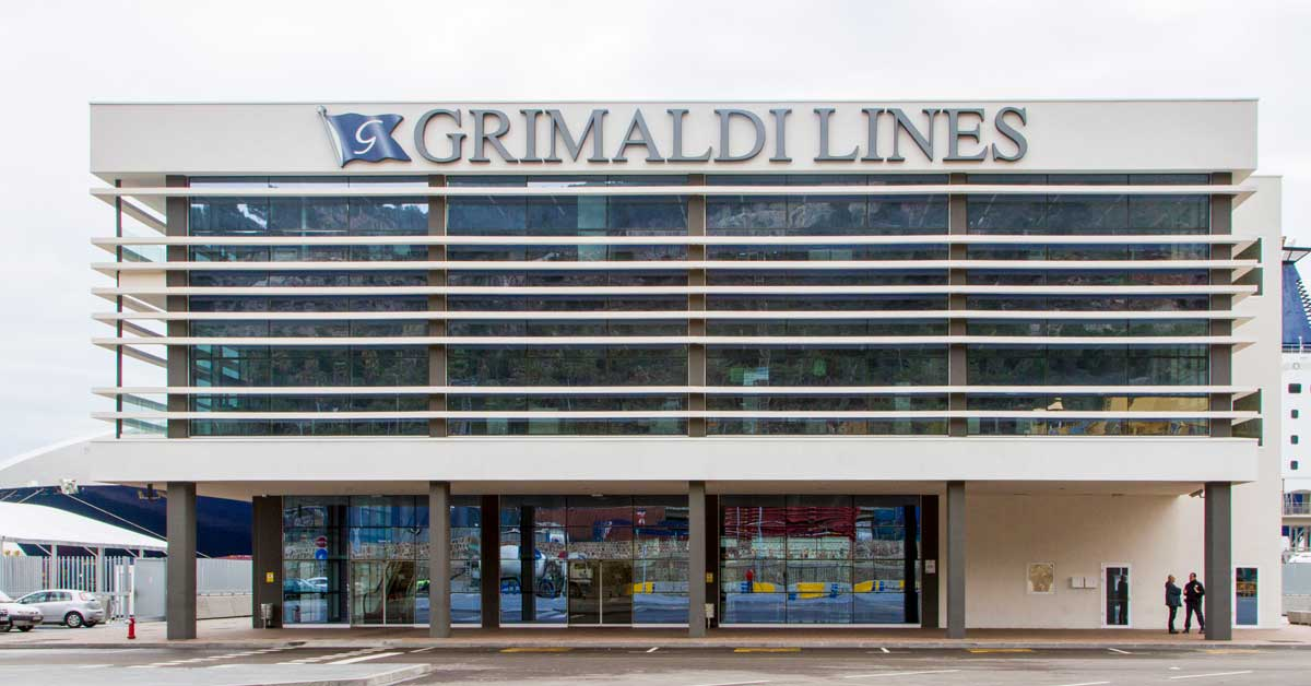Nouveau terminal de la compagnie Grimaldi dans le Port de Barcelone