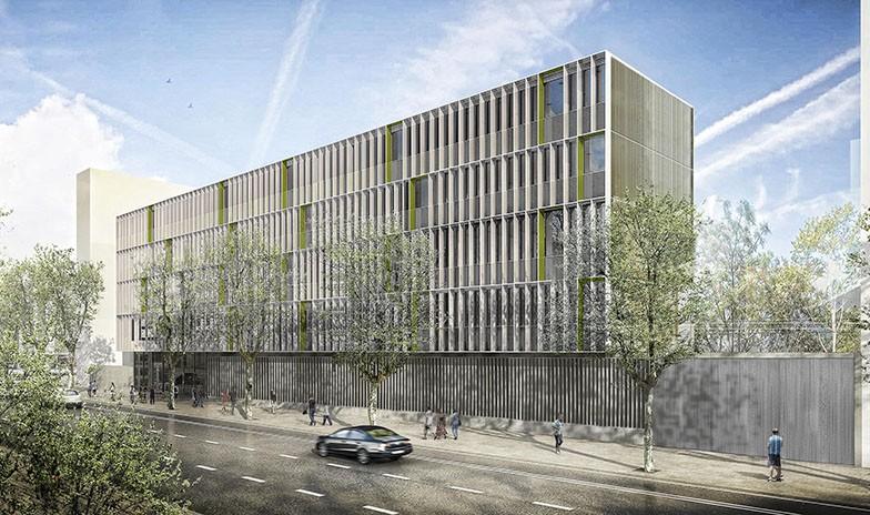 Tancaments De GARCIA FAURA Per Al Nou Institut Viladomat De Barcelona