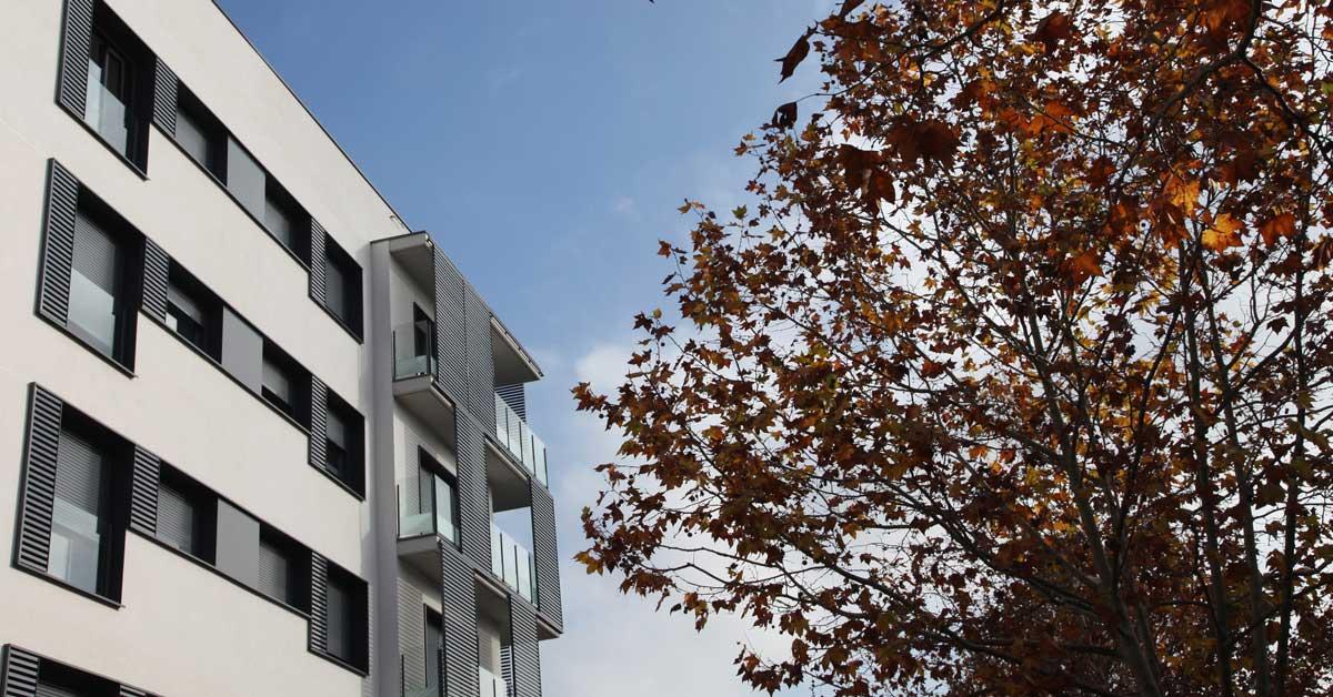 Fermetures En Aluminium Et Verre Pour Promotion Résidentielle à Sant Cugat Del Vallès