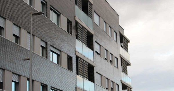 Aluminium And Glazed Enclosures For The Residential Development In Cornellà De Llobregat.