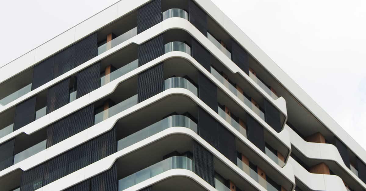 Tancaments D'alumini En Promoció De 60 Habitatges A Mataró