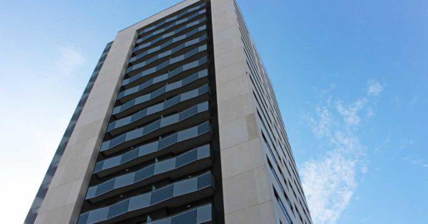 Enclosures For A 90-residence Building In L'Hospitalet De Llobregat