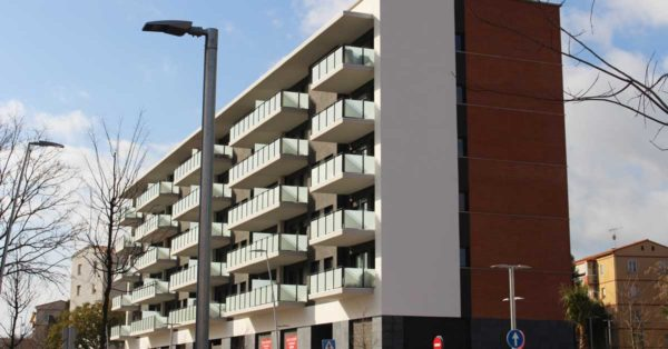 Enclosures For 70 Dwellings In A Multi-family Building