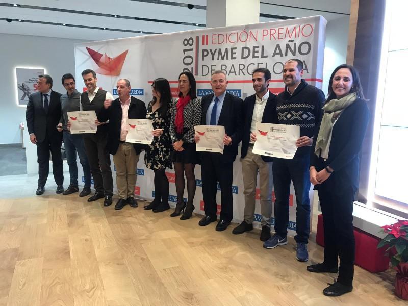Menció Especial Per A GARCIA FAURA En Els Premis PYME 2018 Barcelona