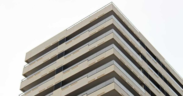 Aluminum And Glass Enclosures In High-performance Residential Development In Barcelona
