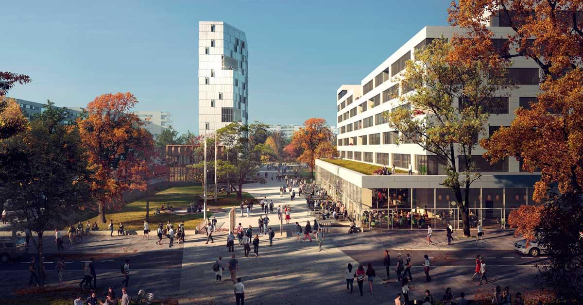 Treballs a la Ciutat de les Humanitats i les Ciències Socials de París