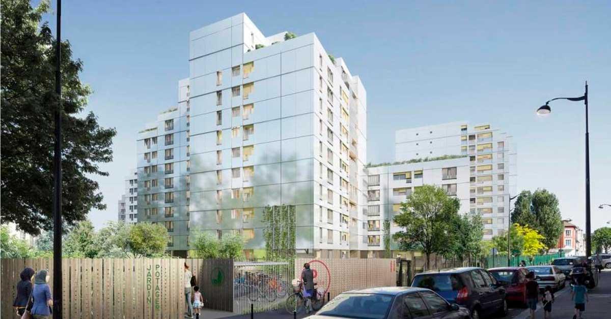 Treballs per a conjunt residencial a París