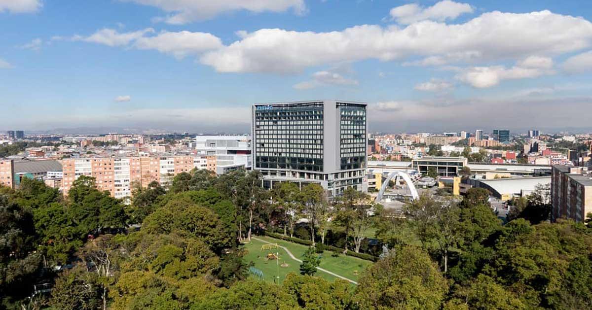 Trabajos En El Nuevo Hotel Hilton De Bogotá, Colombia