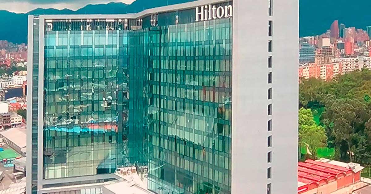 Works In The New Hilton Hotel In Bogotá