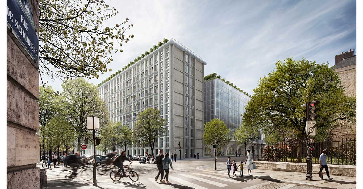 Works for the renovation and new construction project in Paris