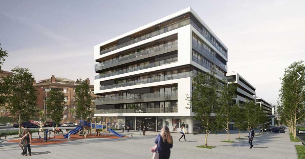 Treballs per a conjunt residencial a Sant Just Desvern