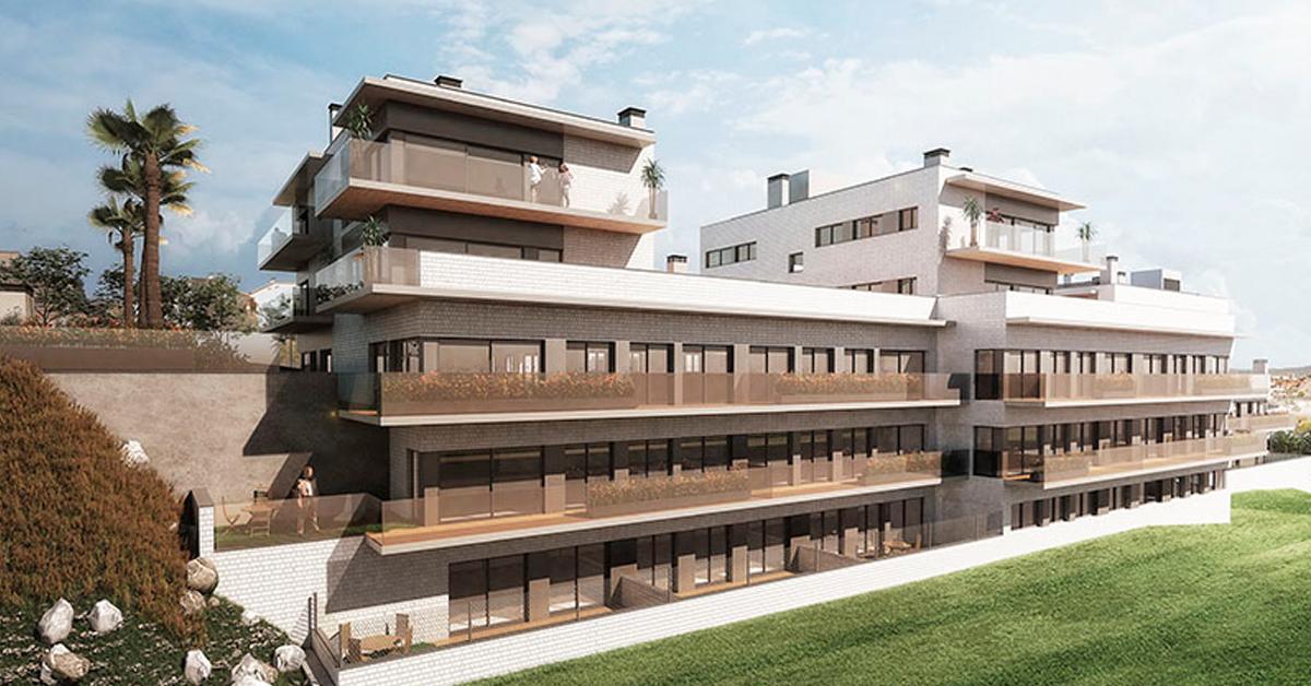 Cerramientos en aluminio y vidrio para 32 viviendas residenciales en Sant Boi de Llobregat