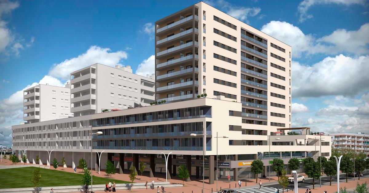 Fabricación e instalación de cerramientos para promoción de 106 viviendas situadas en el nuevo sector del Puerto de Badalona-Fòrum