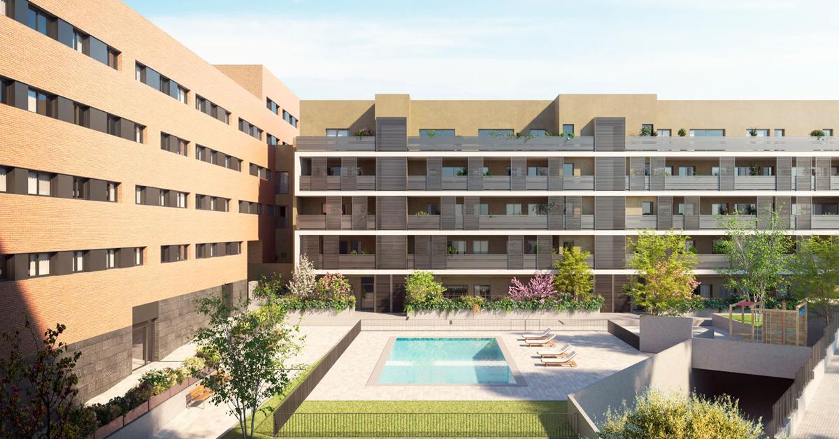 Fabricación e instalación de cerramientos de vidrio y aluminio para conjunto residencial de 86 viviendas en Sant Cugat del Vallès