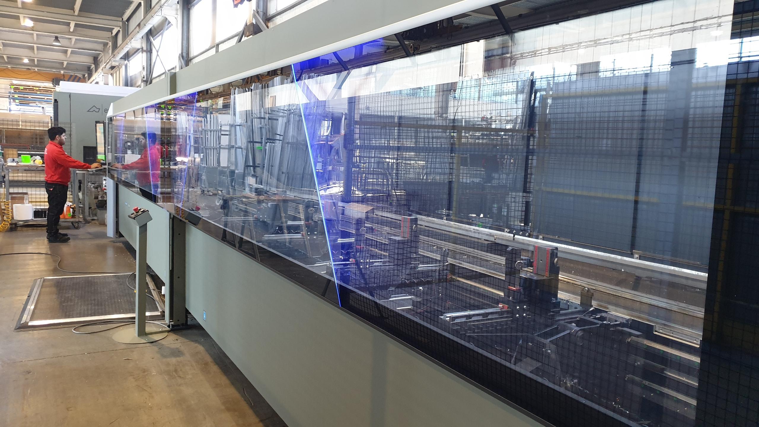 Nou Centre De Mecanitzat Per Al Taller D'alumini De GARCIA FAURA