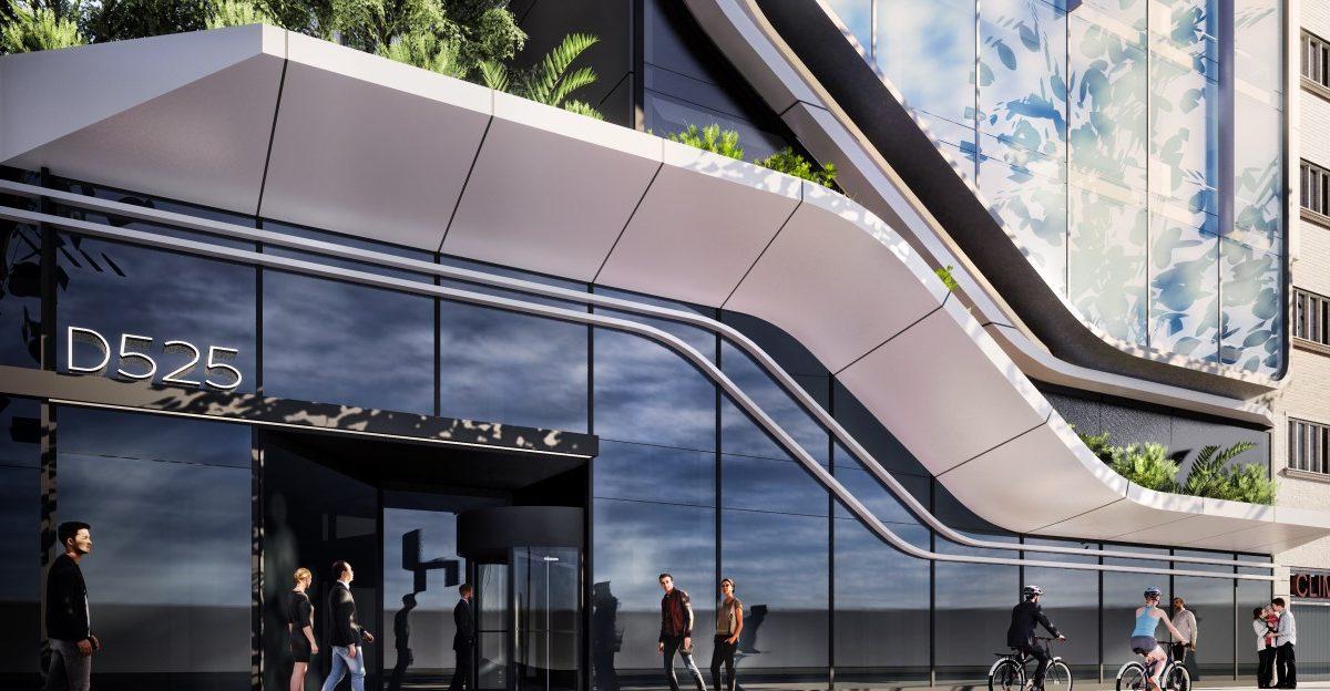 Desarrollo de soluciones de fachada y cerramientos para rehabilitación integral de edificio de oficinas en la avenida Diagonal de Barcelona.