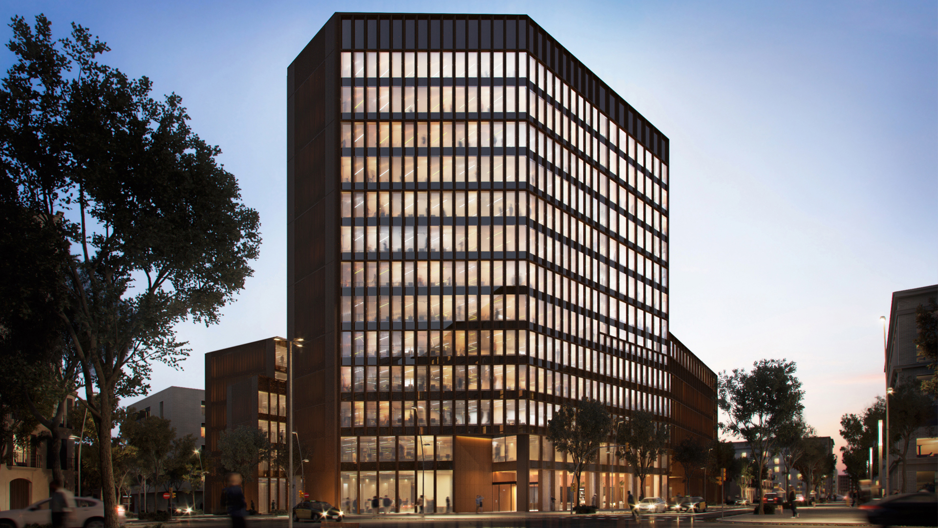 GARCIA FAURA Intervenes In The Future Most Sustainable Office Complex In Barcelona
